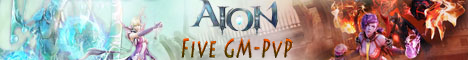 AionFive GM-PVP Banner