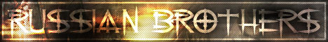 Ru$$ian/br0Ther$ CS 1.6 Gaming Clan Banner