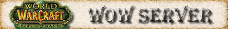 Fun WoW BATTLE Server Banner
