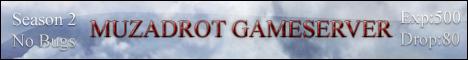 Mu Online Zadrot Game Server Banner