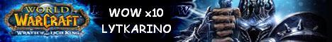 wow lytkarino server сервер wow wotlk wowlk 3.0.8 - 3.0.9 Banner