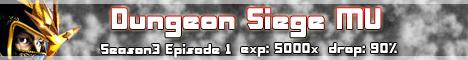 Dungeon SIege MU Season 3 Epi.1 Banner
