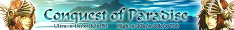 Ragnarok Conquest of Paradise Banner