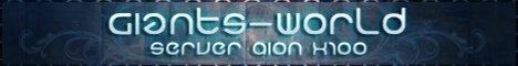 Giants World server x100 Banner