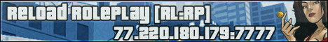 SA:MP Форум Reload RolePlay Banner