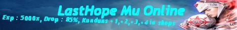 LastHope Mu Online Banner
